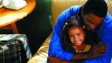A father, parenting alone, and his daughter