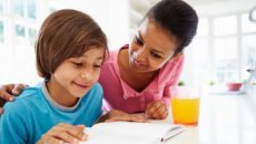 How over functioning parents can step back and let kids do homework themselves.
