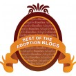 Badge for the best adoption blogs of 2011
