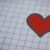 A heart on graph paper