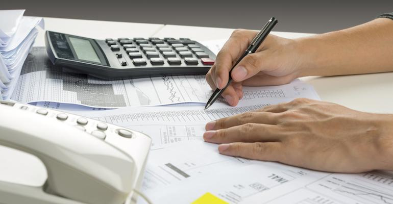 Prospective parent preparing a domestic adoption budget
