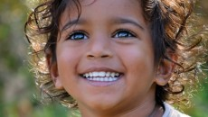 A child who joined his family via India adoption
