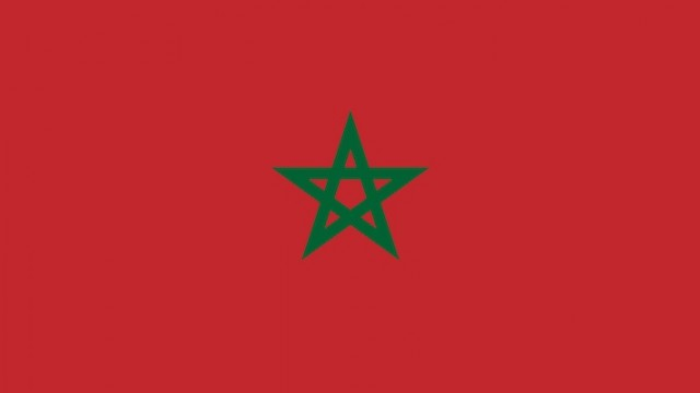 Flag of Morocco, representing Morocco adoption