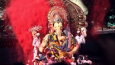 A festival for Ganesh seen during a transcultural adoption