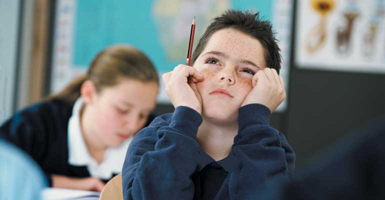 Auditory processing disorder can make it difficult for children to focus in school