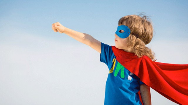 After our Bulgarian adoption, Jesse became a superhero