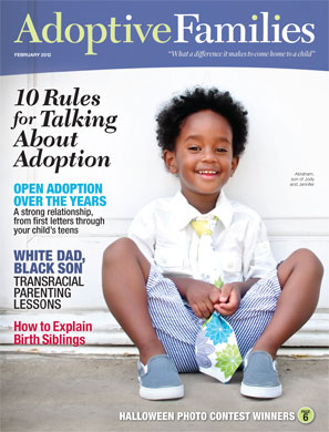 Adoptive Families magazine January February 2012