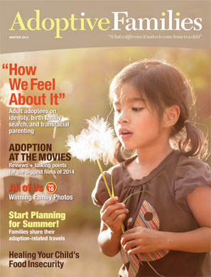 Winter 2015 issue of Adoptive Families magazine