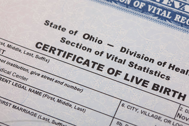 Ohio Adoption Law Releases Birth Certificates to Adoptees