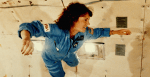 The author's imaginary birth mom, astronaut Christa McAuliffe