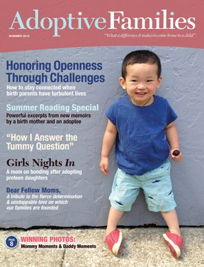 Summer 2015 issue of Adoptive Families magazine