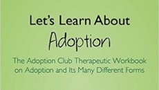 Cover of one volume of The Adoption Club: Therapeutic Workbook Series