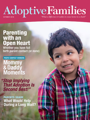 October 2016 issue of Adoptive Families magazine