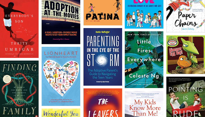 32 noteworthy new adoption novels, memoirs, children's books, and more published in 2017