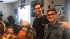 Author Gary Matloff's two sons, adopted from Brazil as older children, home together for Thanksgiving